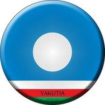 Yakutia Country Novelty Metal Circular Sign - $21.95