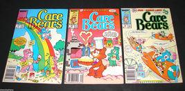 3 1987 Marvel Comics CARE BEARS 17, 18, 19 FINE  Comic Books - $11.99