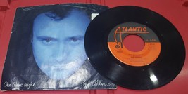 Phil Collins - One More Night - Man with the Horn - Atlantic - 45RPM Record - $4.94