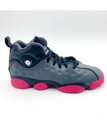 Jordan Jumpman Team II GS Dark Grey Vivid Pink Black Kids 820276 009 - $84.95