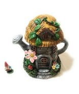 Alpine Waterford Fairy House with Mika Gnome Figurine, 7 Inch Tall - NEW - £35.10 GBP