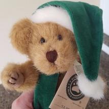 Boyds Bears Plush C Z COMET Teddy Bear Christmas Hat 917308 1985 Collect... - $19.79