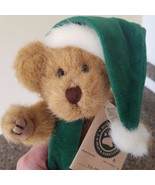 Boyds Bears Plush C Z COMET Teddy Bear Christmas Hat 917308 1985 Collect... - $19.79