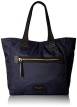 Marc Jacobs Nylon Biker NS Tote Weekender Bag, Midnight Blue, One Size - ₨15,676.59 INR