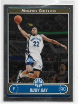 2006-07 Topps Chrome Rudy Gay Rookie Card #184 - $1.09