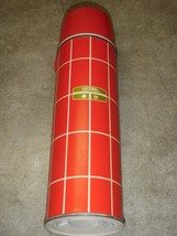 Vintage King Seeley Insulated Red & White Thermos - Cup - Stopper  Bottle #2434 - $28.04