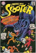 Swing With Scooter Comic Book #8 DC Comics 1967 FINE+ - $21.20