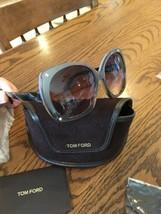 NEW!  Tom Ford Women's sunglasses Cat Eye FT0362 Gray Frames - $138.59