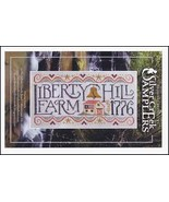 Liberty Hill Farm patriotic cross stitch chart ... - $9.90