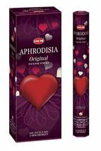 Hem Aphrosia Hand Rolled Incense Sticks Natural Fragrance 6 Pack of 20 Sticks - $11.06