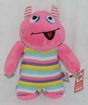 GANZ Brand H12598 Pink Multi color Striped Knit Wit Monster image 1