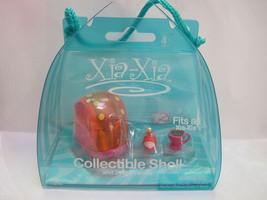 Xia Xia Collectible Orange Shell & Two Friends Nuggie & Coffee Bean - $5.00