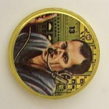 "Vintage Space Magic Donald Deke Slayton 1"" Coin Token Toy NASA Mercury A... - $14.00"