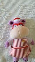 "8"" Disney Store Plush Hallie Hippo Doll, Doc Mcstuffins Character, Hippopotamus - $4.94"