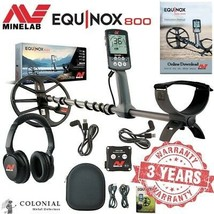 Minelab Equinox 800 Metal Detector - Land and Water - Wireless - Waterproof - $899.00