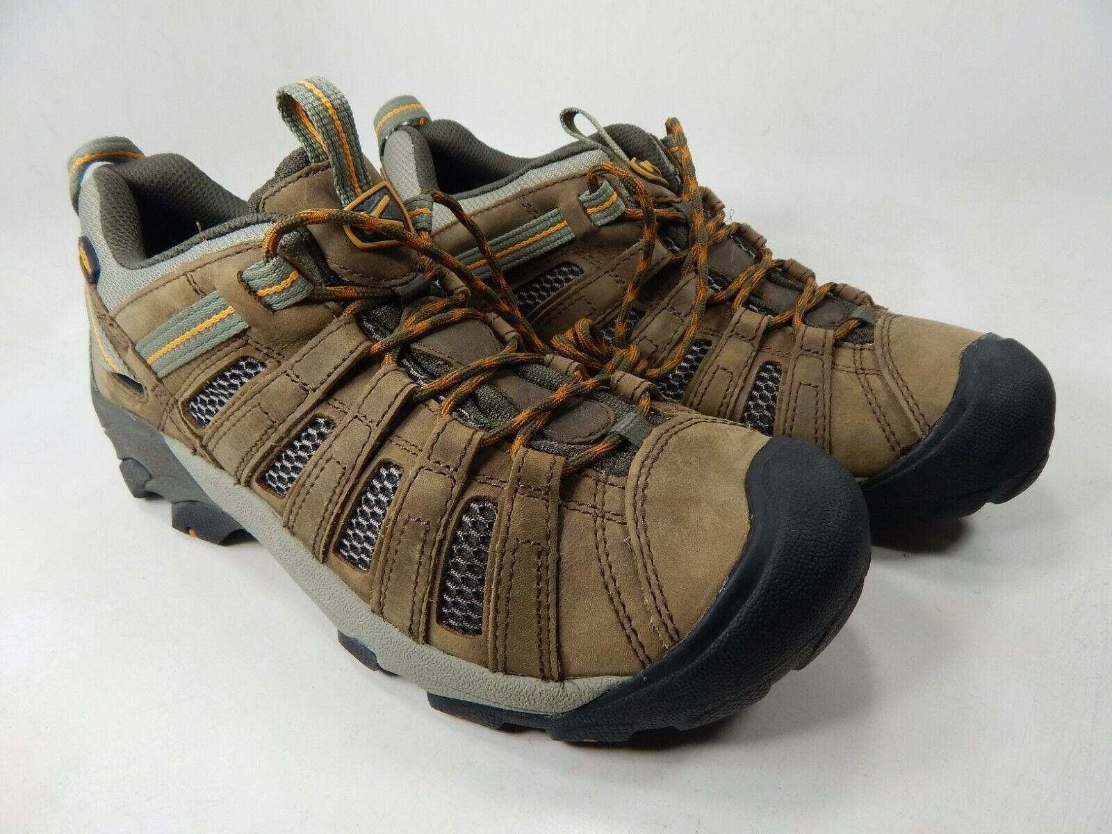 Keen Voyageur Low Top Size US 10.5 M (D) EU 44 Men's Trail Hiking Shoes Brown