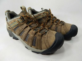 Keen Voyageur Low Top Size US 10.5 M (D) EU 44 Men's Trail Hiking Shoes Brown image 1
