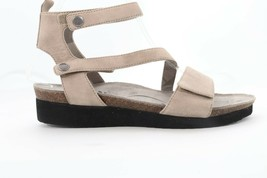 Abeo Gray Ankle Strap Sandals  Women's Size 8 Neutral Footbed (EPB)4500 - $89.00