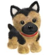 "First & Main 7"" Black & Brown Wuffles German Shephard Puppy Dog Basic Pl... - $11.02"