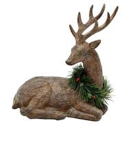 Christmas decoration Sitting Deer seasonal - $108.89
