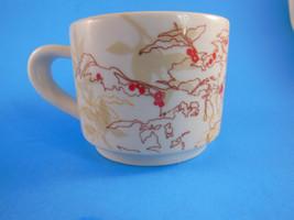 Beautiful Starbucks Coffee Mug Cup 10 oz Fall  leaves & Berries Abstract... - $8.16