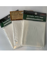 Lot of 3 Texsport Portable Toilet Bags 12 Pack 15120 36 total - $23.76