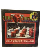 Vintage Cube Checkers Game New Dimension in Checkers Sealed NOS Deadstoc... - $46.65