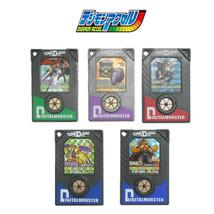 Bandai Digimon Data Plate DDP Chip Digimon Accel Digivice 5 Pcs Hologram Version - $59.40