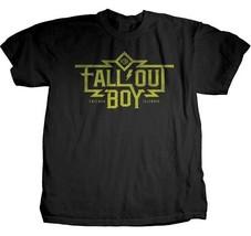 Authentique Fall Out Boy Machine Logo Pop Punk Rock Musique T-Shirt S/M/... - $20.90
