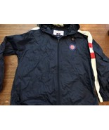 Vintage Pro Player Chicago Cubs Navy Blue Red MLB Windbreaker Jacket Sz ... - $22.79
