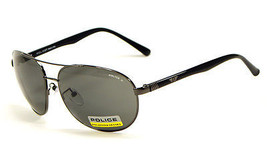 Police S8641M 568P Sunglasses - Gunmetal / Grey Polarized - $109.95