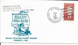 COPELAND (FFG-25) Everett WA Salty Sea Days Cachet - $3.47