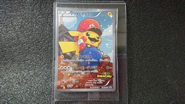 Mario Pikachu Card Unopened Pokemon Rare Japan  293/XY-P 294/XY-P 2 - $186.07