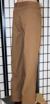 "NWOT KIM ROGERS Women's Size 16 Average Brown Stretch Denim Jeans 30"" In... - $24.18"