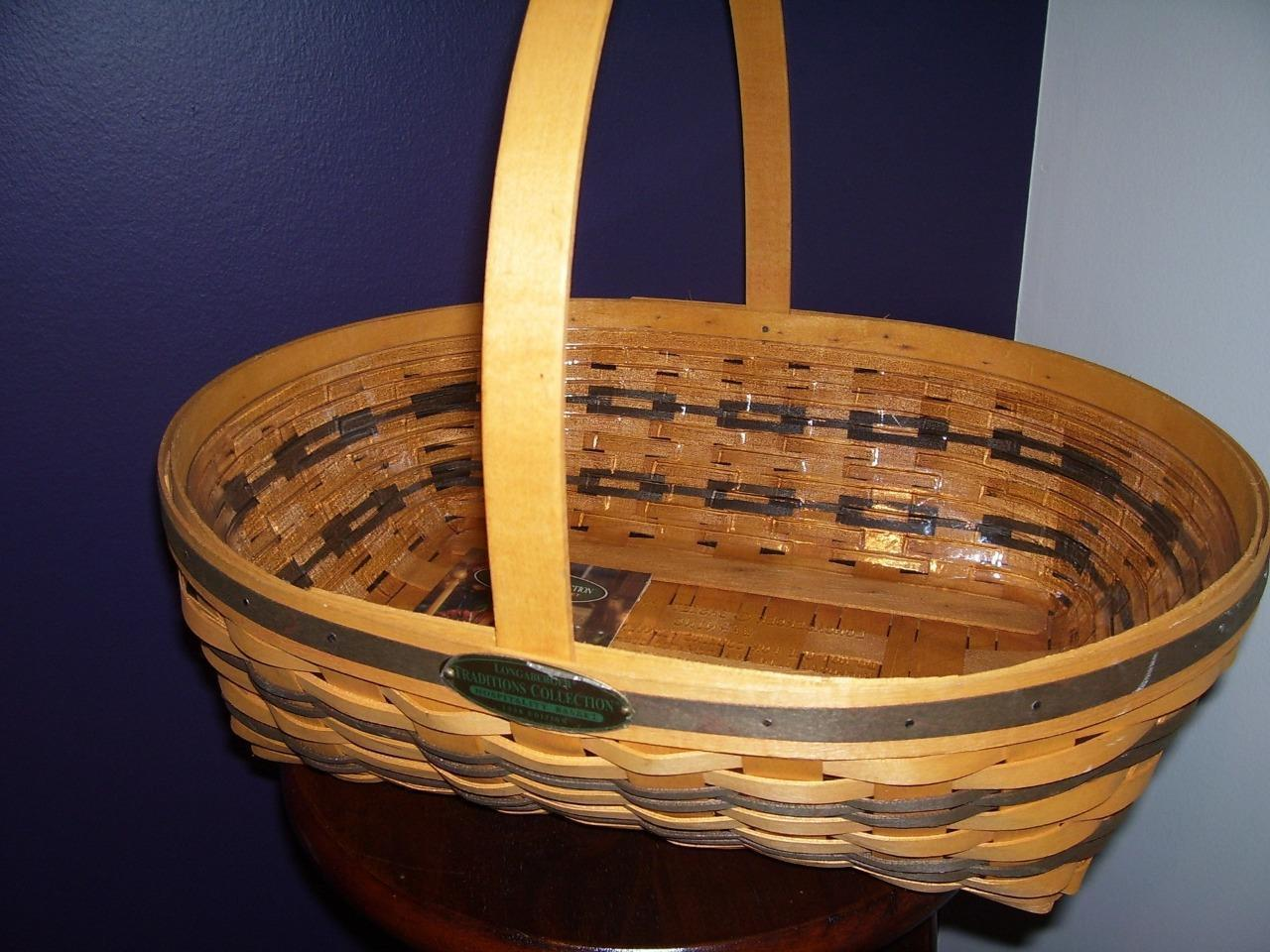 Longaberger 1998 Edition Hospitality Basket w/ liner Traditions Collection