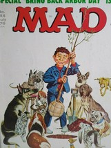 MAD Magazine July 1976 No 184 Arbor Day Issue Various Dogs Comic Gift For Dad - $9.16