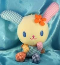 Sanrio Usahana checked style Jumbo Plush Doll Japan - $79.99