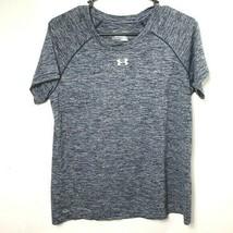 Under Armour shirt blue short sleeve mens medium - $16.09