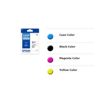 Epson 320P 4 Colors Ink Cartridge Set + 4R Photo Paper (100 Sheets)(for ... - $62.99