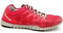 Reebok Nanoweb Women Running Shoes Size 8 Two Tone Pink - $24.06