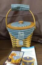 Longaberger 1998 Commemorative Crawford Barn Raising Basket Combo #14362 - $35.00