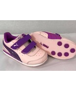 NEW PUMA SPEED LIGHT UP 357640 15 Pink/Purple toddlers size: 7 - $30.67
