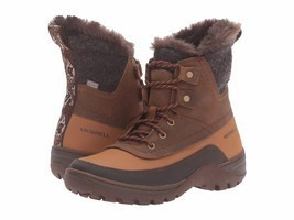 Womens Merrell Sylva Mid Lace Waterproof Insulated Boots Size 10 Origina... - $1.763,90 MXN
