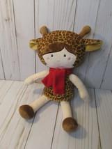 "E4 Hobby Lobby 12"" Giraffe Girl Plush Doll Stuffed Toy - $14.84"
