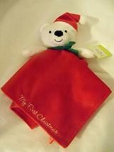 NWT Baby Starters Snuggle Buddy Christmas Bear by Rashti & Rashti - $10.12