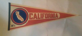 Vintage California Angels MLB Baseball Pennant - $11.21