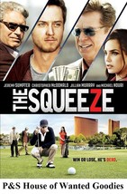 THE SQUEEZE- Jeremy Sumpter, Chris McDonald **BRAND NEW**[DVD 2015] Free... - $5.00