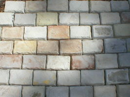 """24 Paver Molds 4x6x1.5"""" for Cement Cobblestone Garden Path Wall Tiles, FAST SHIP image 3"""