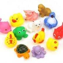13Pcs Cute Soft Float Sqeeze Sound Animals Baby Kids Wash Bath Play Toys - $14.99