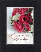 Anniversary Blessings. 8 x 10 Inches Biblical/Religious Verses set in Do... - $11.14